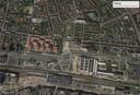 De Spoorzone, hier te zien op een luchtfoto uit 2018.