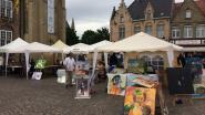 Kunst voor groot en klein op Marktplein