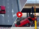 Belgisch gezin komt met schrik vrij na val met auto van ophaalbrug