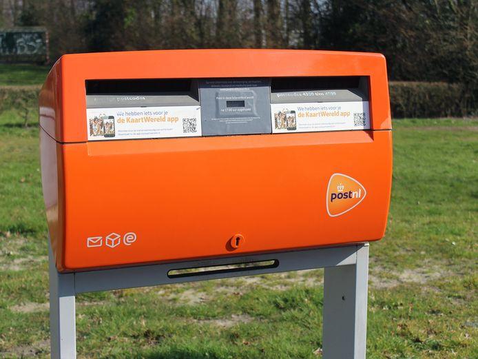 PostNL verwijdert komende maand brievenbussen.