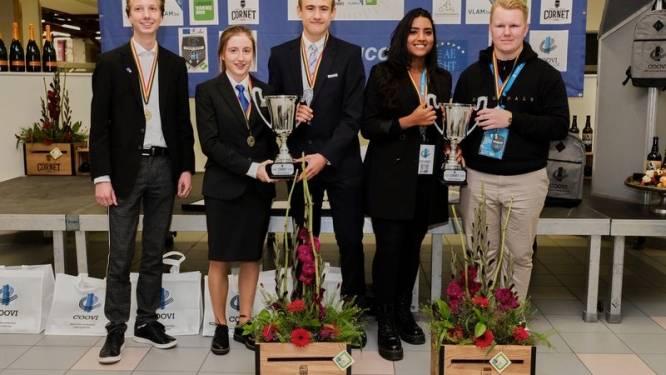 Deze leerlingen nemen straks deel aan Europese hotelschoolwedstrijd