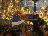 Russen vieren feest na overwinning op Egypte
