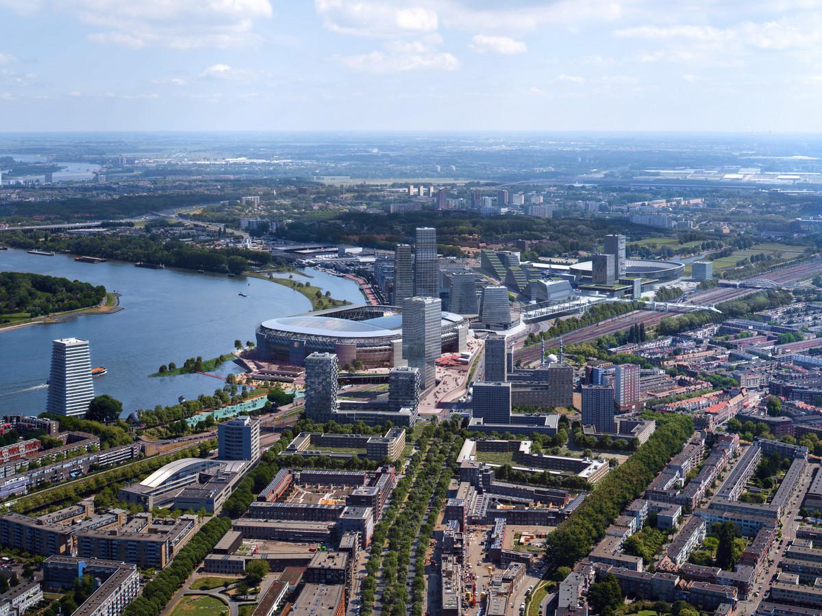 En hier moet het volgens de initiatiefnemers allemaal toe leiden: Feyenoord City.