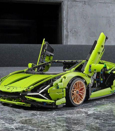 Nieuwe Lego-Lamborghini bestaat uit bijna 4000 onderdelen