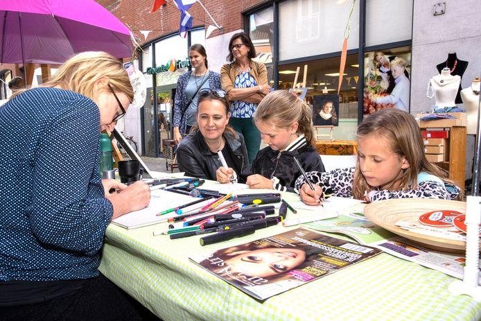 Kunst- en cultuurmarkt Rooi Martre in Sint-Oedenrode.