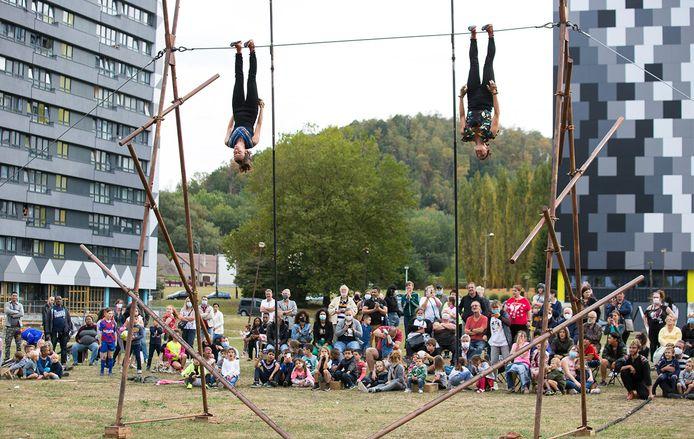 Des spectacles haut en couleurs auront lieu cet été à Charleroi