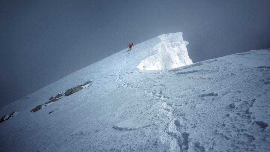 In 1999 was het een stuk rustiger op Mount Everest.