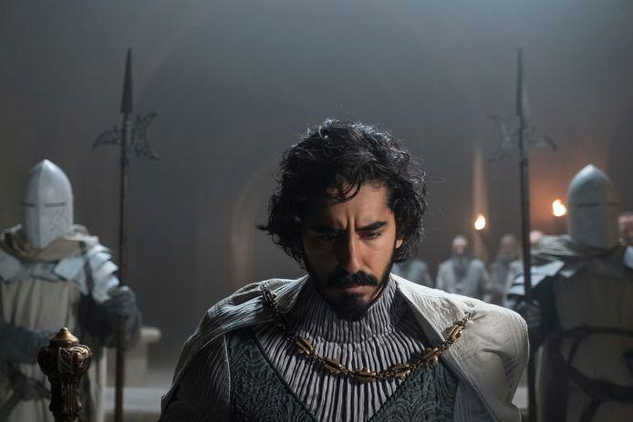 Dev Patel als sir Gawain in The Green Knight.