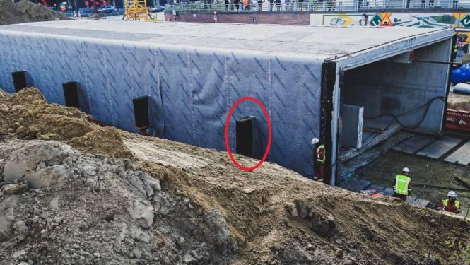 Schuifoperatie fiets- en bustunnel stilgelegd maar timing komt niet in het gedrang