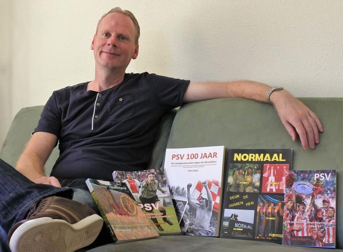 Jan Schepers uit Borger schreef onlangs zijn vierde boek over PSV.