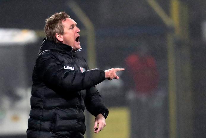 François Gesthuizen houdt NEC bij de les in de boeiende wedstrijd tegen Cambuur.