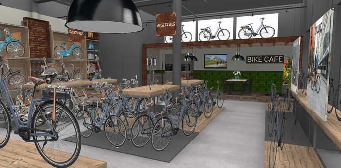 Impressie van Roberto Bikes&Scooters in Etten-Leur.