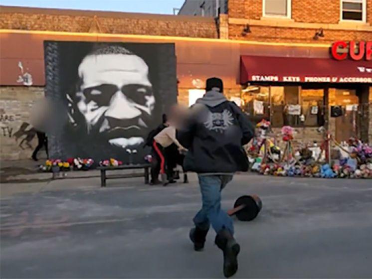 Fusillade mortelle au mémorial de George Floyd