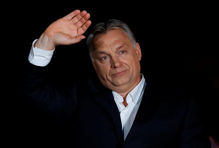 Hongaars premier Viktor Orbán. Beeld REUTERS