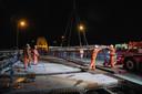 PR dgfoto Gelderlander Nijmegen: Groot onderhoud aan de Waalbrug.