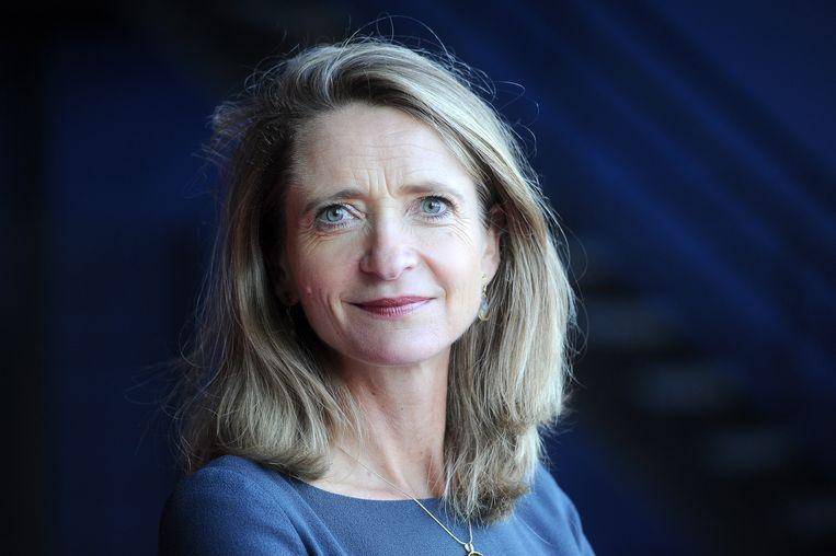 Frederieke Leeflang, nu nog werkzaam bij Deloitte, volgt per 1 januari 2022 Shula Rijxman op als NPO-voorzitter. Beeld ANP