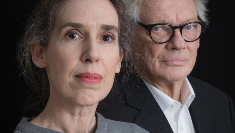 Nan Romijn en Robert Broekhuis. 'Ouders zijn er niet op gebouwd om hun kinderen te overleven' Beeld Dingena Mol