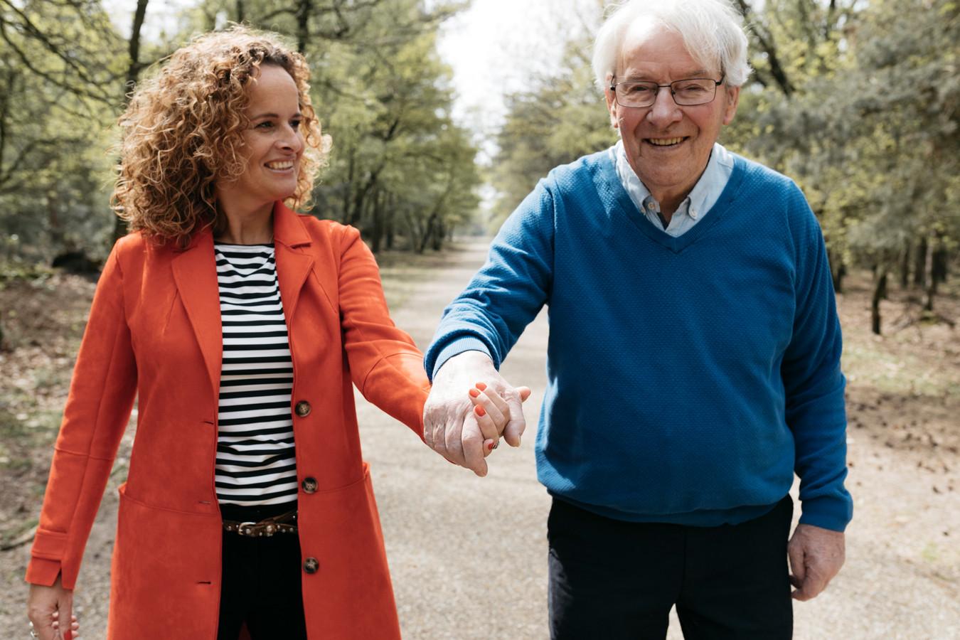 2019  Ilse Hendriks en vader Jan.