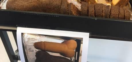 Medewerkers van ziekenhuis Doetinchem 'pikken het niet meer' en trakteren op 'peniscake'