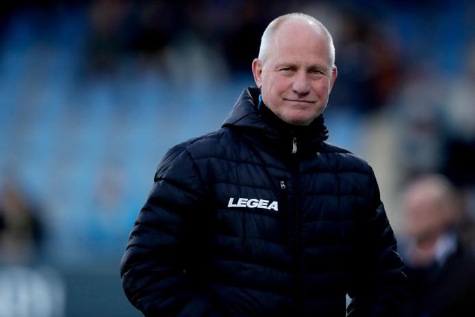 Ron de Groot, de interim-trainer van NEC.