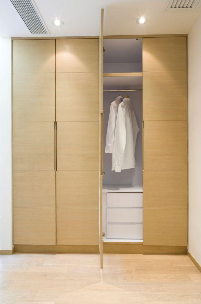 Functioneel licht, bijvoorbeeld bij de kledingkast.