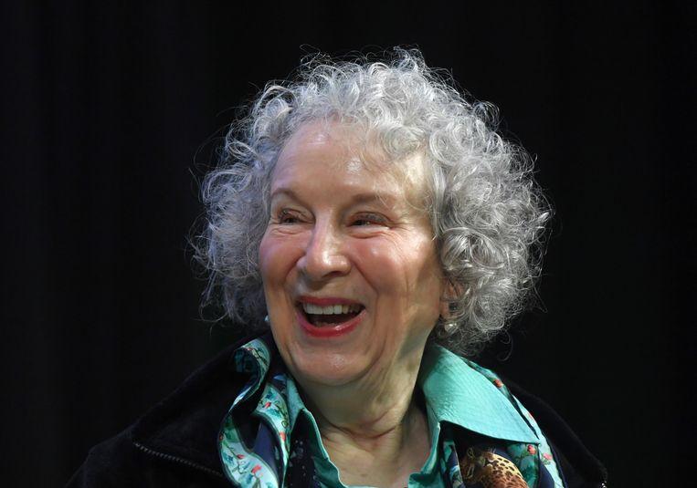De Canadese schrijfster Margaret Atwood. Beeld EPA