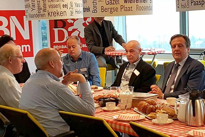 Alexander Pechtold van D66 schuift vandaag aan de Brabantse koffietafel op de redactie om in gesprek te gaan met lezers van BN DeStem, Brabants Dagblad en Eindhovens Dagblad