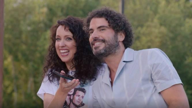 """Riadh Bahri verklaart de liefde aan Kürt Rogiers: """"Ik ben al sinds mijn tienerjaren stapelzot van u"""""""