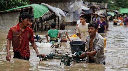 Australië en VS sturen noodhulp naar Myanmar
