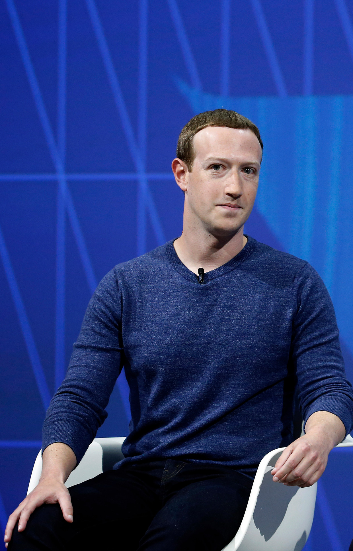 Mark Zuckerberg, stichter en CEO van Facebook. Beeld Getty Images