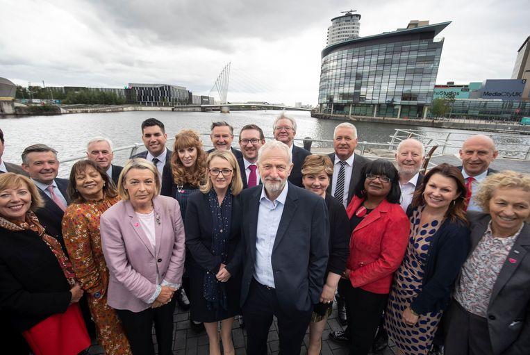 De Labour-partij is klaar voor verkiezingen. Beeld REUTERS
