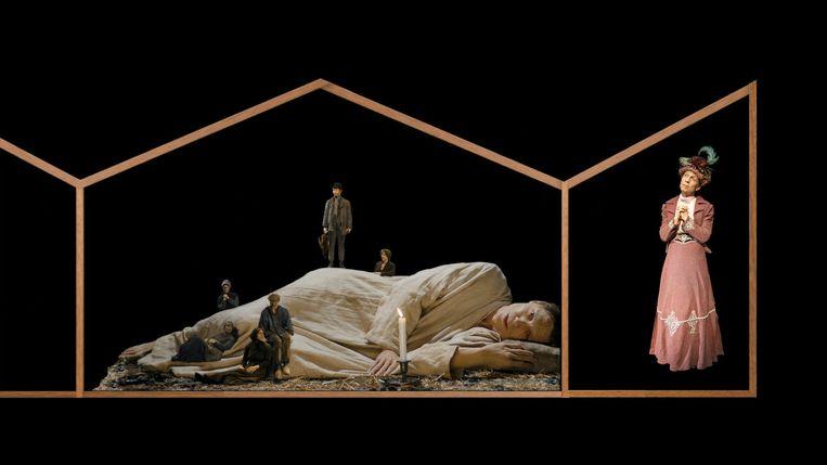 'Het verdriet Van Paemel', een triptiek waar leven in zit. Beeld RV