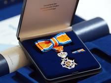 Losserse brandweervrijwilliger Lid in de Orde van Oranje Nassau