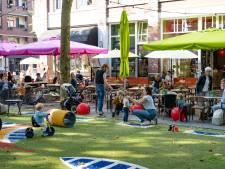 Ondernemers Faberplein starten petitie om extra grote terrassen te behouden