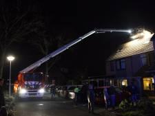 Schoorsteenbrand bij woning in Rijssen