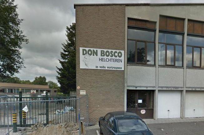 De verdachte scholieren waren op weg naar het Don Bosco Instituut in Helchteren.