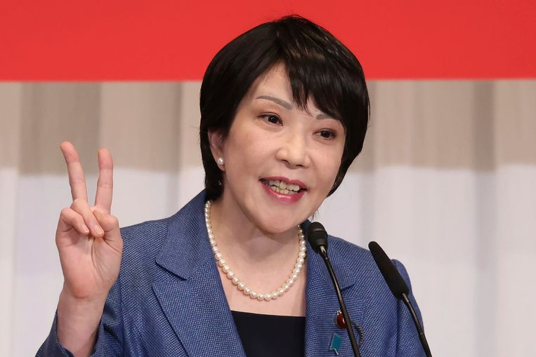 Sanae Takaichi  Beeld AP