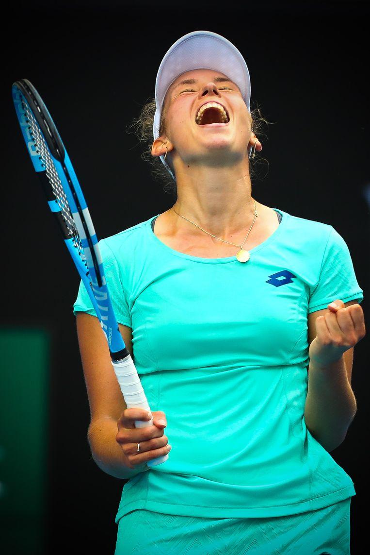 Elise Mertens (WTA 37)  Beeld BELGA