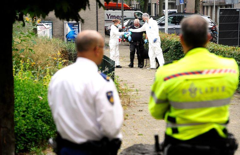 Stefan Eggermont werd in 2014 doodgeschoten in zijn auto in de Conradstraat. Beeld anp