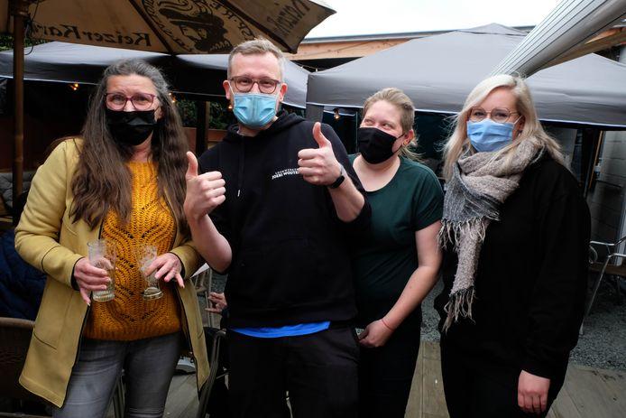 Het team van De Steenbakkerij in Schriek.