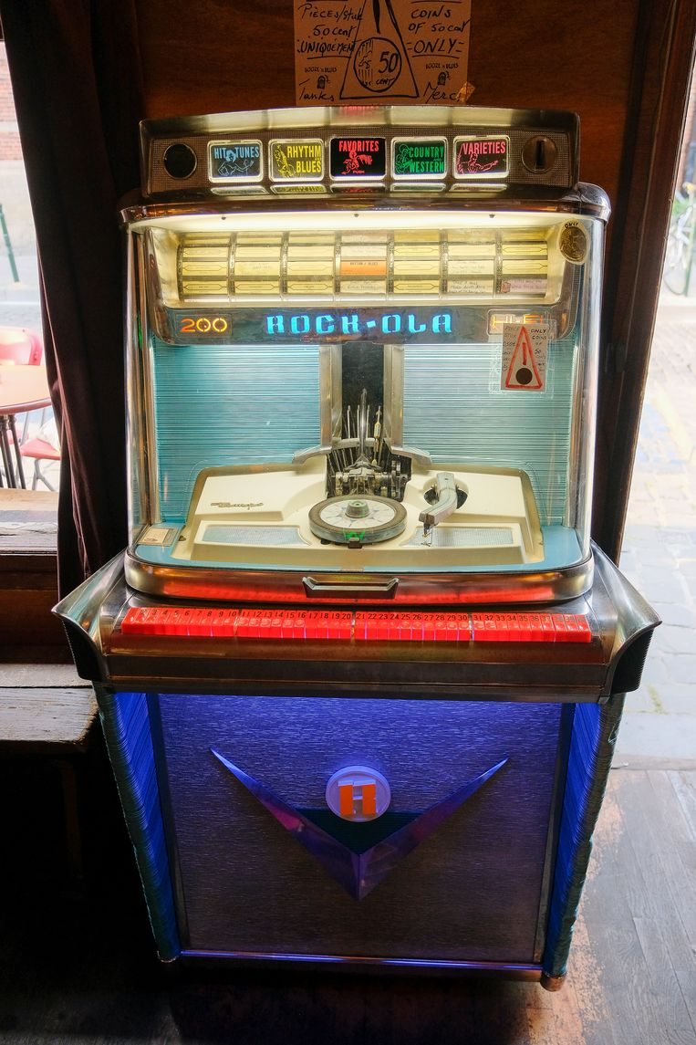 Oude jukebox