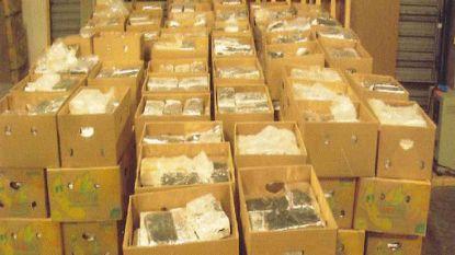 Al 30 ton drugs onderschept in haven van Antwerpen