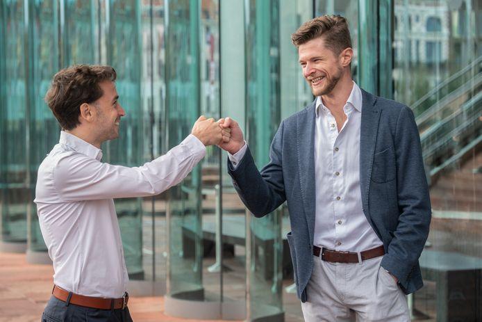 Jonathan van Driessen & Anthony Lamot, co-founders van DESelect