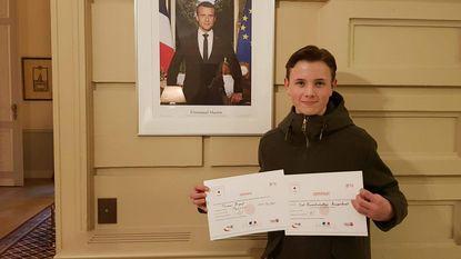 Thomas wint met Franse Haiku