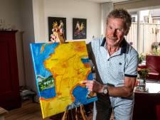 Jan uit Raalte (71) heeft monstertocht over 100 Franse bergen volbracht: 'Nu is er rust in mijn hoofd'