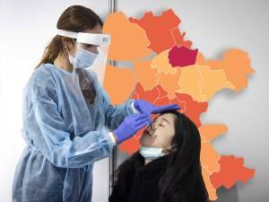 KAART | Lichte daling van besmettingen in Oost-Nederland, maar Staphorst noteert hoogste aantal sinds eind januari