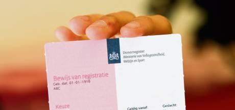 Hoeveel mensen in de Drechtsteden staan ingeschreven in het donorregister?