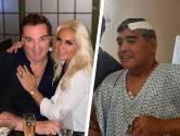 """Maradona a envoyé son dernier message audio au nouveau compagnon de son ex: """"Occupe-toi bien de mon ange"""""""