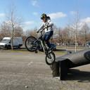 Terence Blomme vorig weekend in Wachtebeke