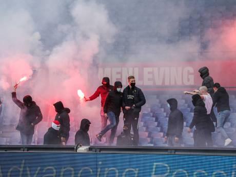 Feyenoord zit klem tussen gemeente en de harde kern, niemand weet hoe het verder moet